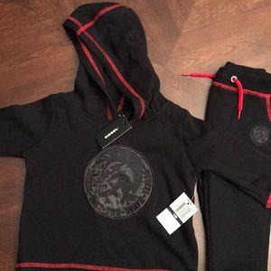 Baby Diesel Matching Sweatshirt & Sweatpants